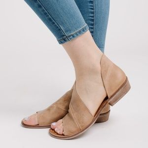 Free People Mont Blanc Sandals Brown 6